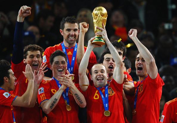 منتخب إسبانيا بطل العالم 2010