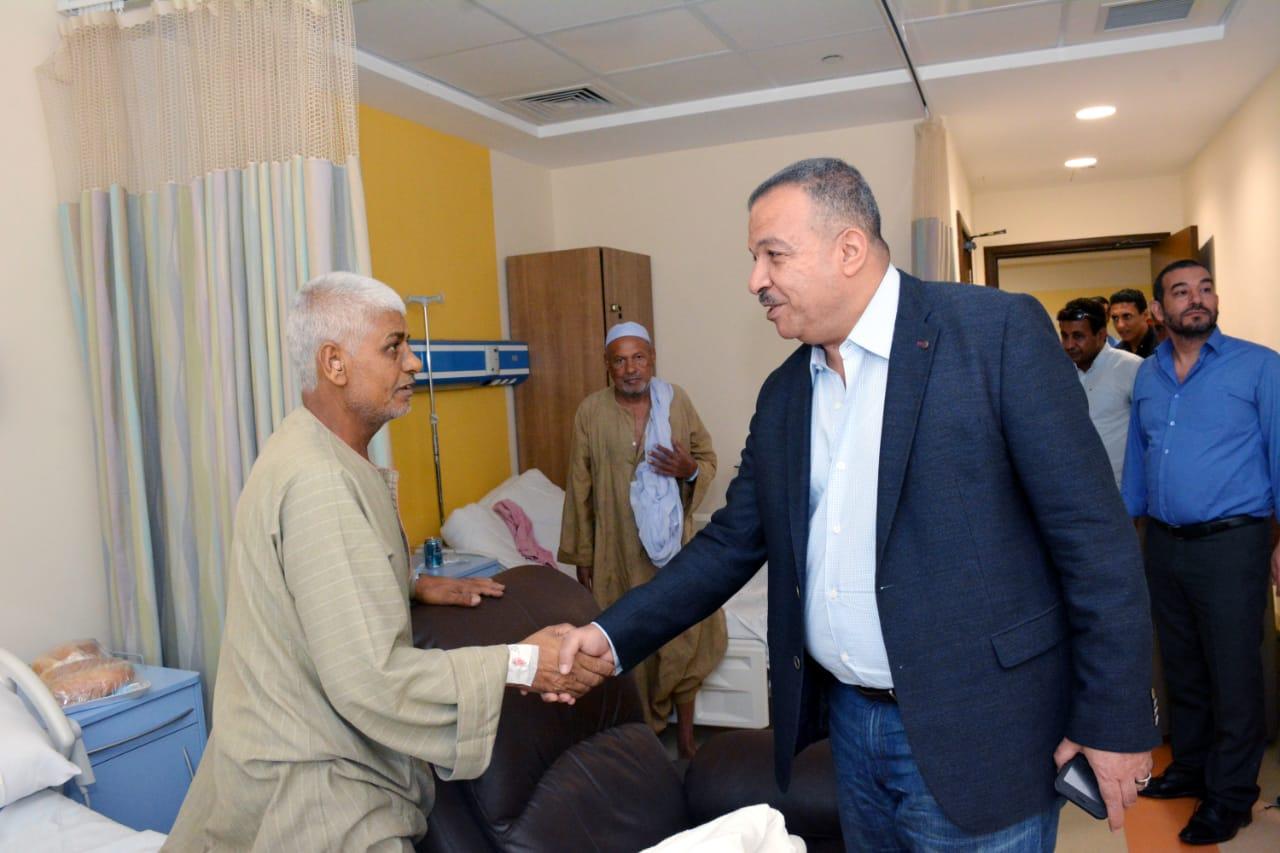 العمارى يؤكد: المستشفى فخر للمؤسسات الخيرية ولأهل الأقصر ومنارة طبية وعلمية بالصعيد
