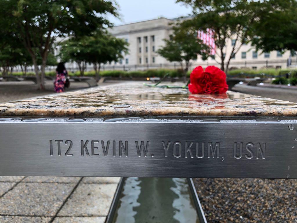 نصب البنتاجون لإحياء ذكرى 11 سبتمبر  (5)