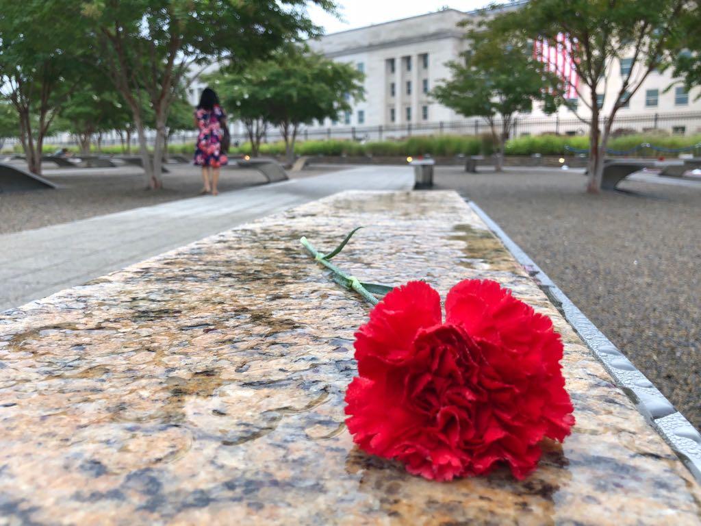 نصب البنتاجون لإحياء ذكرى 11 سبتمبر  (7)