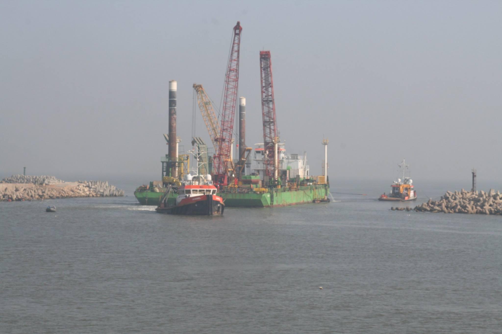 ميناء البرلس يستقبل السفن