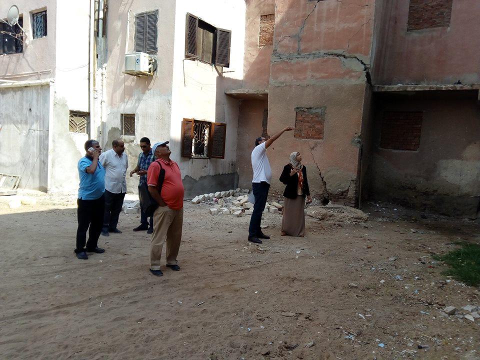 لجان لمعاينة العماراتاللواء عماد يوسف رئيس مدينة التل الكبير