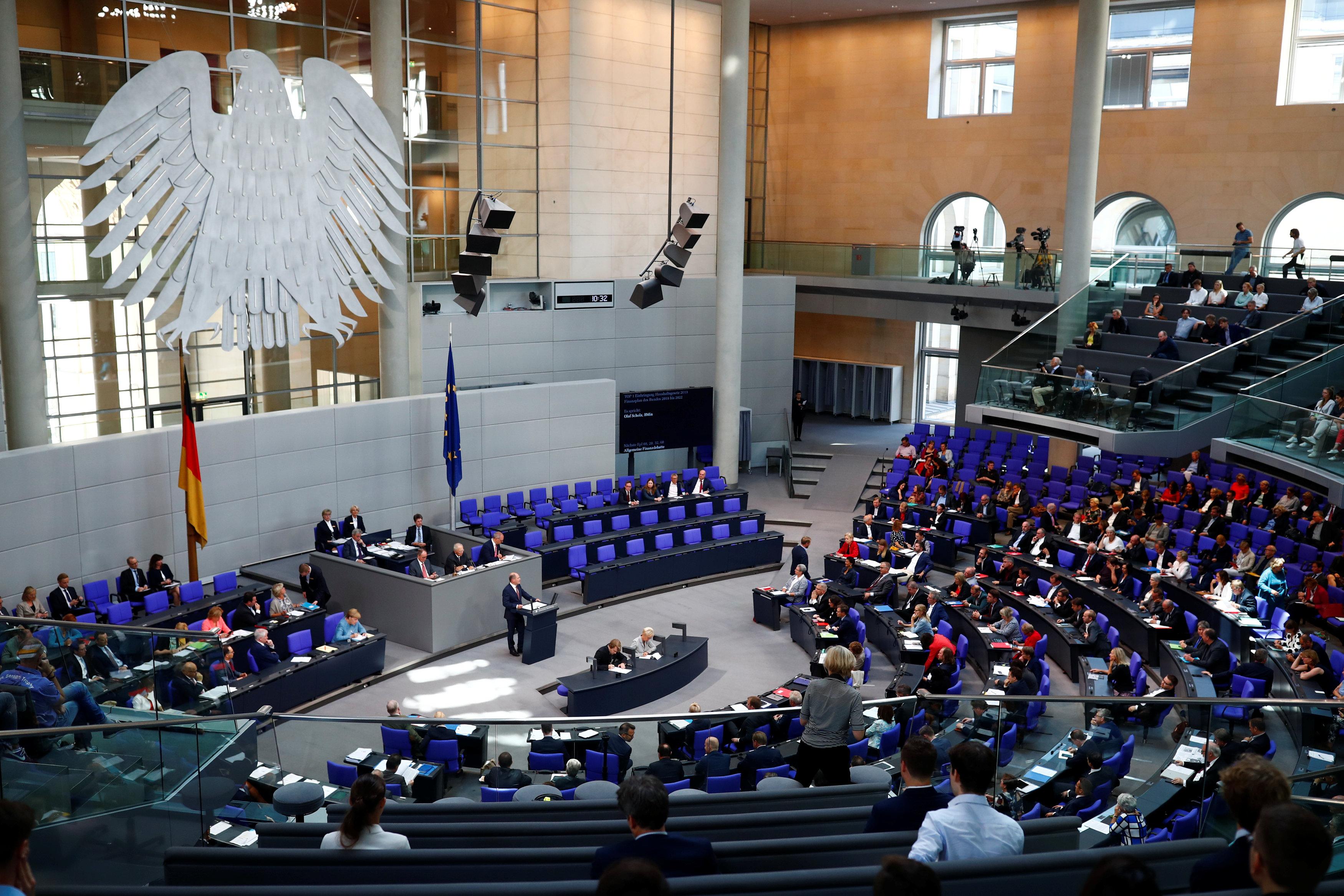 مجلس النواب الالمانى