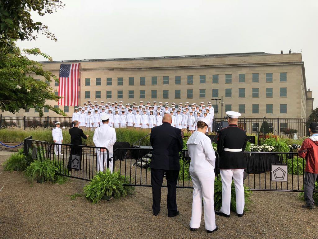 نصب البنتاجون لإحياء ذكرى 11 سبتمبر  (3)