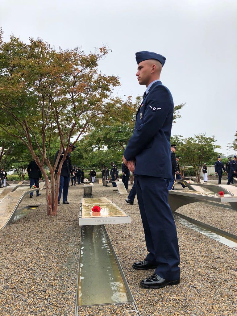 نصب البنتاجون لإحياء ذكرى 11 سبتمبر  (1)