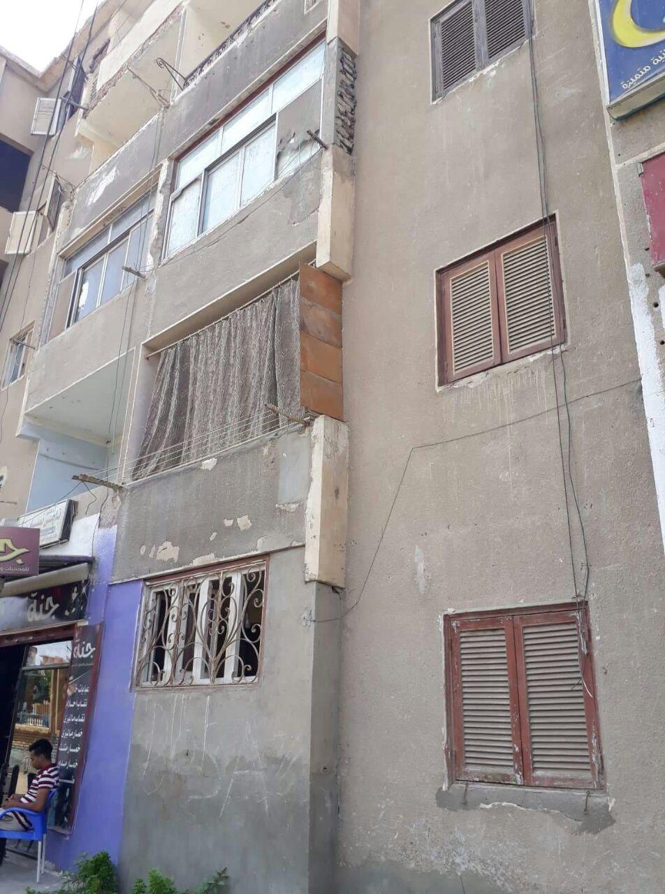 عمارات المساكن  بالتل الكبير