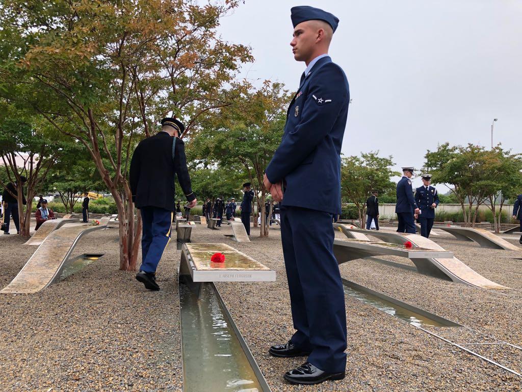 نصب البنتاجون لإحياء ذكرى 11 سبتمبر  (11)
