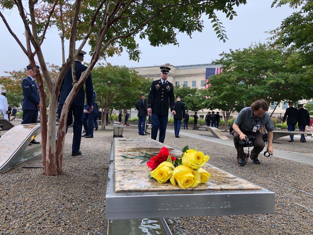 نصب البنتاجون لإحياء ذكرى 11 سبتمبر  (2)