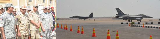 الفريق أول محمد زكى وزير الدفاع يتفقد تدريبات النجم الساطع 2018 (3)