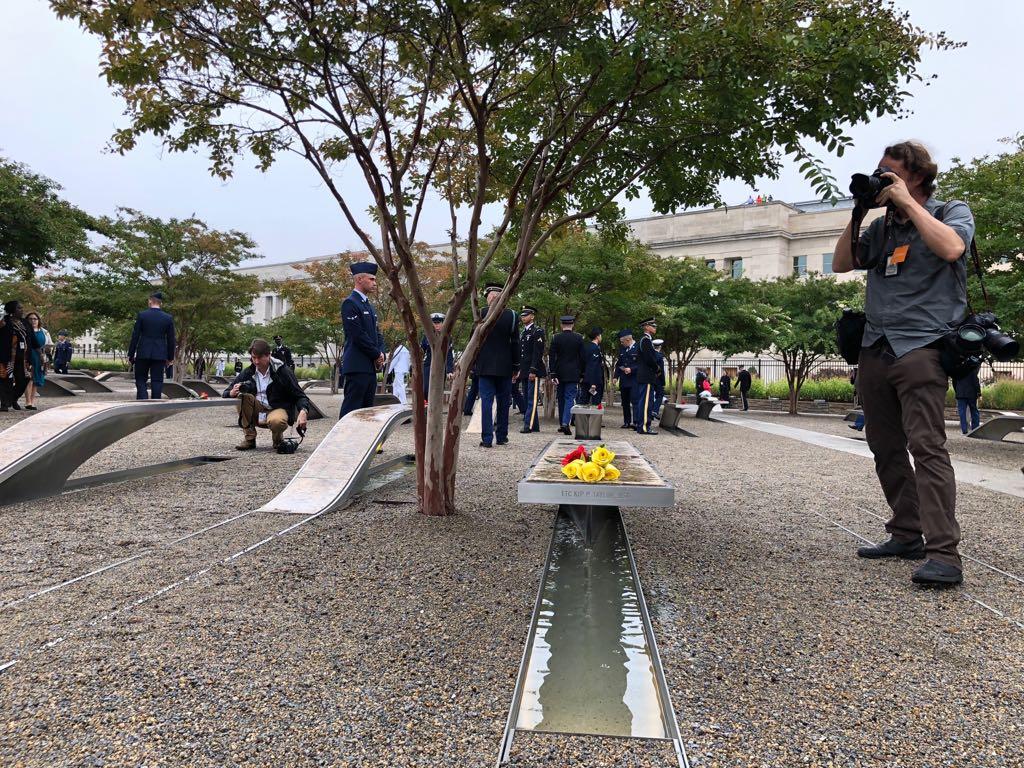 نصب البنتاجون لإحياء ذكرى 11 سبتمبر  (10)