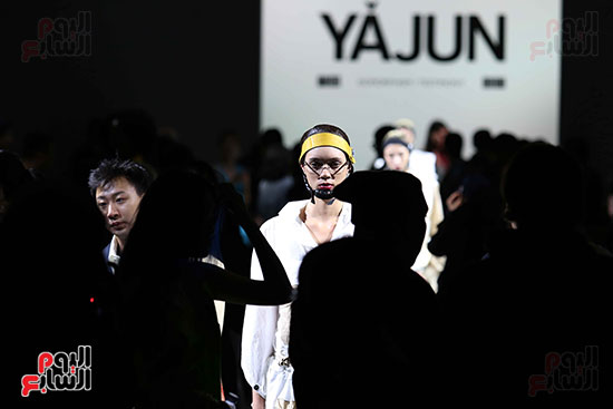 أزياء YAJUN لربيع وصيف 2019 فى أسبوع الموضة بنيويورك (30)