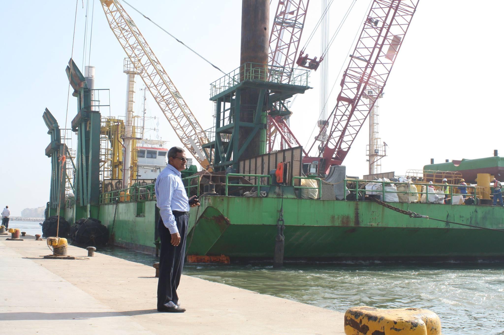 ميناء الصيد بالبرلس