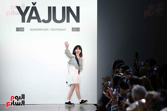 أزياء YAJUN لربيع وصيف 2019 فى أسبوع الموضة بنيويورك (1)