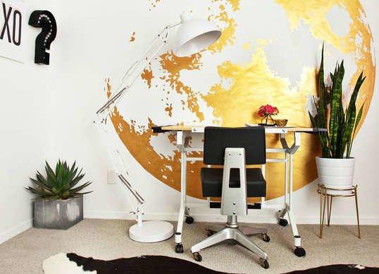 نبات الثعبان في المكتب