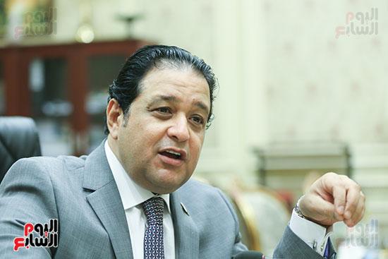 النائب علاء عابد رئيس لجنة حقوق الإنسان بالبرلمان (11)