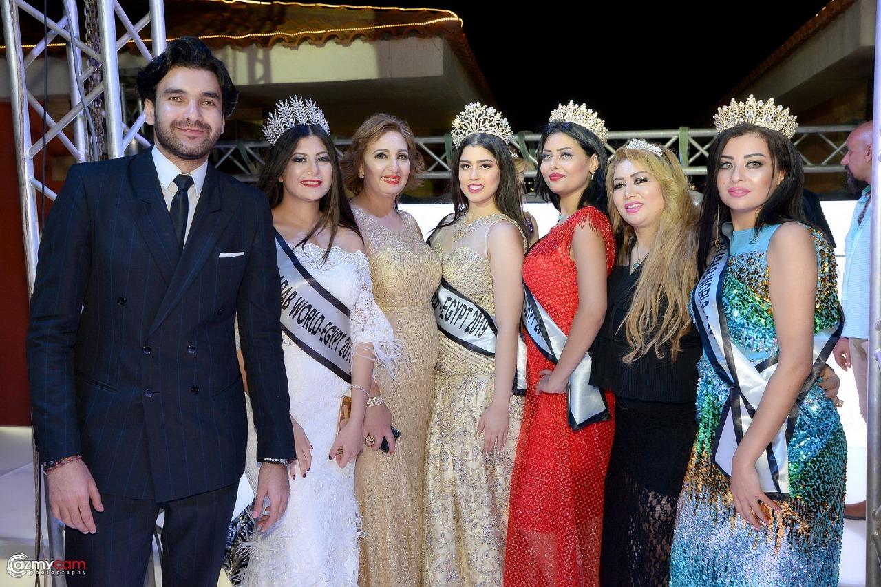 لقطات من مسابقة ملكة جمال العرب مصر