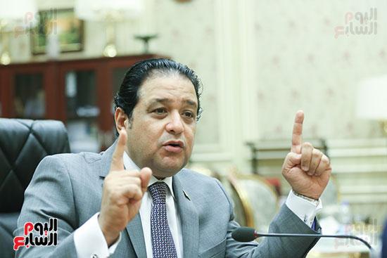 النائب علاء عابد رئيس لجنة حقوق الإنسان بالبرلمان (14)