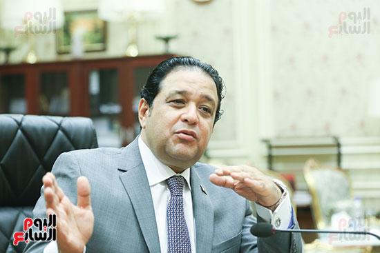 النائب علاء عابد رئيس لجنة حقوق الإنسان بالبرلمان (9)