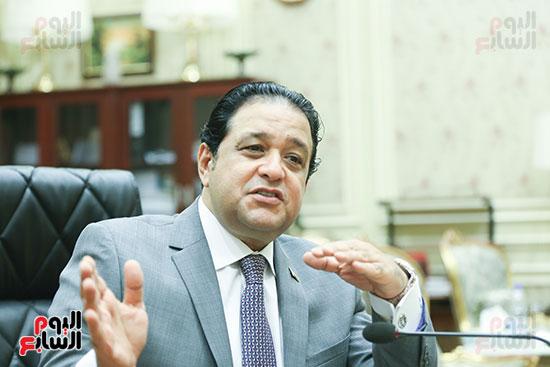 النائب علاء عابد رئيس لجنة حقوق الإنسان بالبرلمان (10)