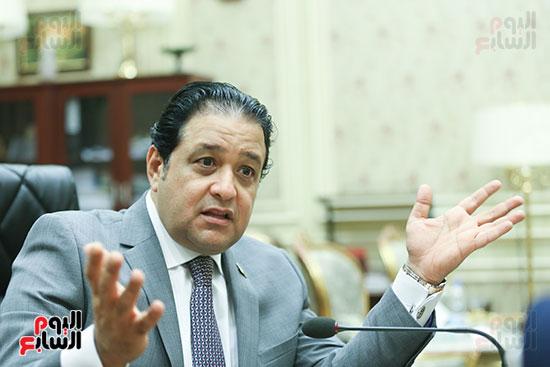 النائب علاء عابد رئيس لجنة حقوق الإنسان بالبرلمان (12)