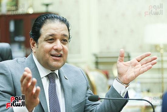 النائب علاء عابد رئيس لجنة حقوق الإنسان بالبرلمان (8)