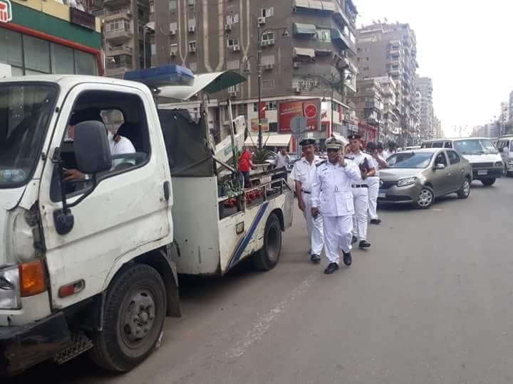 حملات مرورية مكبرة على الطرق لرصد المخالفات بالقاهرة والجيزة (5)