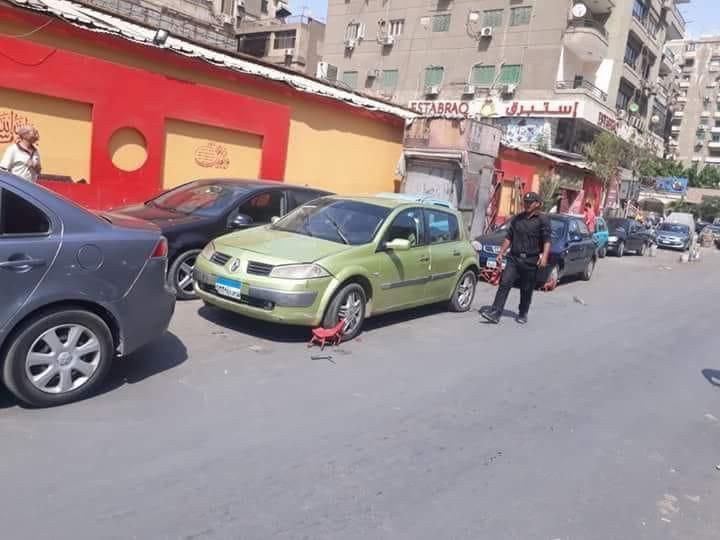 حملات مرورية مكبرة على الطرق لرصد المخالفات بالقاهرة والجيزة (3)