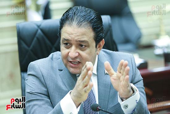 النائب علاء عابد رئيس لجنة حقوق الإنسان بالبرلمان (5)