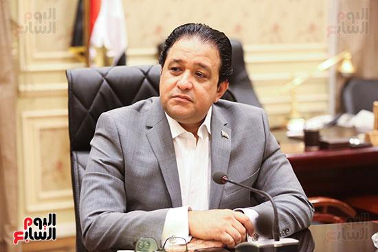 النائب علاء عابد رئيس لجنة حقوق الإنسان بالبرلمان (1)