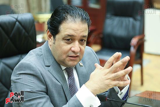 النائب علاء عابد رئيس لجنة حقوق الإنسان بالبرلمان (7)