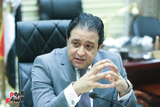 النائب علاء عابد رئيس لجنة حقوق الإنسان بالبرلمان (4)