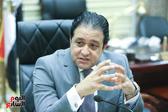 النائب علاء عابد رئيس لجنة حقوق الإنسان بالبرلمان (3)
