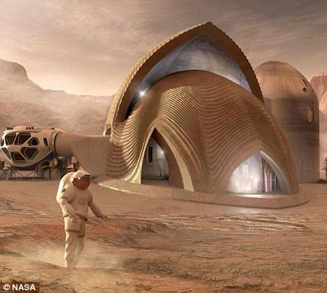 البشر على المريخ