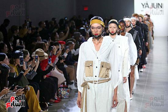 أزياء YAJUN لربيع وصيف 2019 فى أسبوع الموضة بنيويورك (27)
