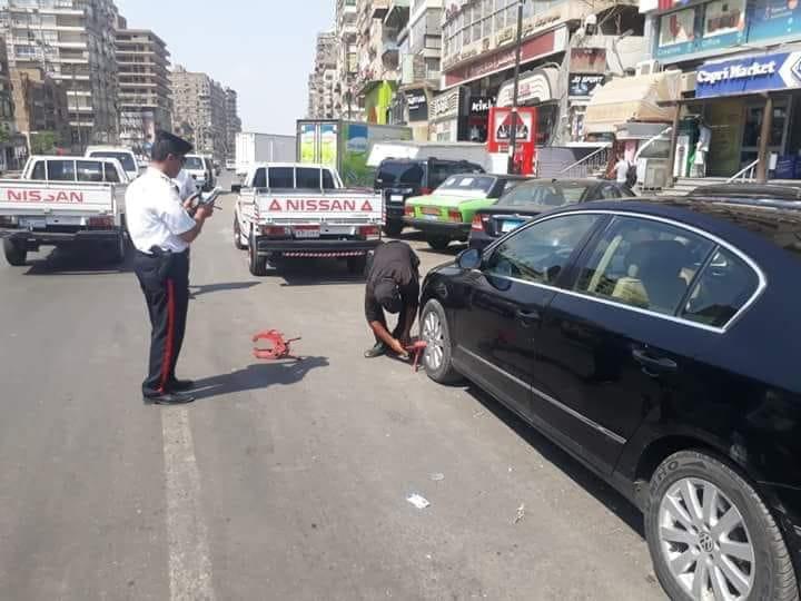 حملات مرورية مكبرة على الطرق لرصد المخالفات بالقاهرة والجيزة (2)