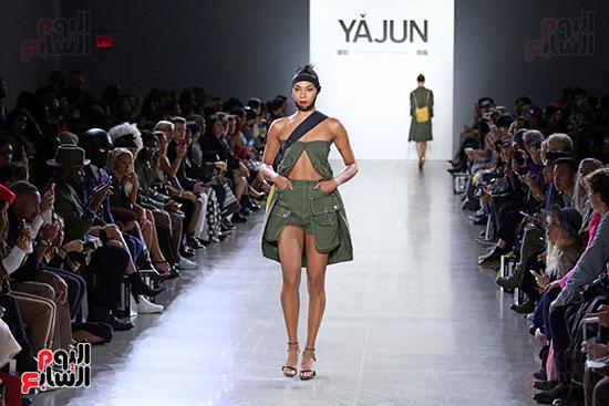أزياء YAJUN لربيع وصيف 2019 فى أسبوع الموضة بنيويورك (15)