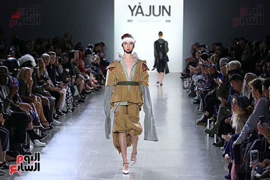 أزياء YAJUN لربيع وصيف 2019 فى أسبوع الموضة بنيويورك (12)