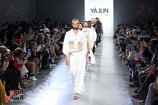 أزياء YAJUN لربيع وصيف 2019 فى أسبوع الموضة بنيويورك (26)