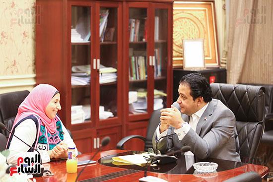 النائب علاء عابد رئيس لجنة حقوق الإنسان بالبرلمان (15)