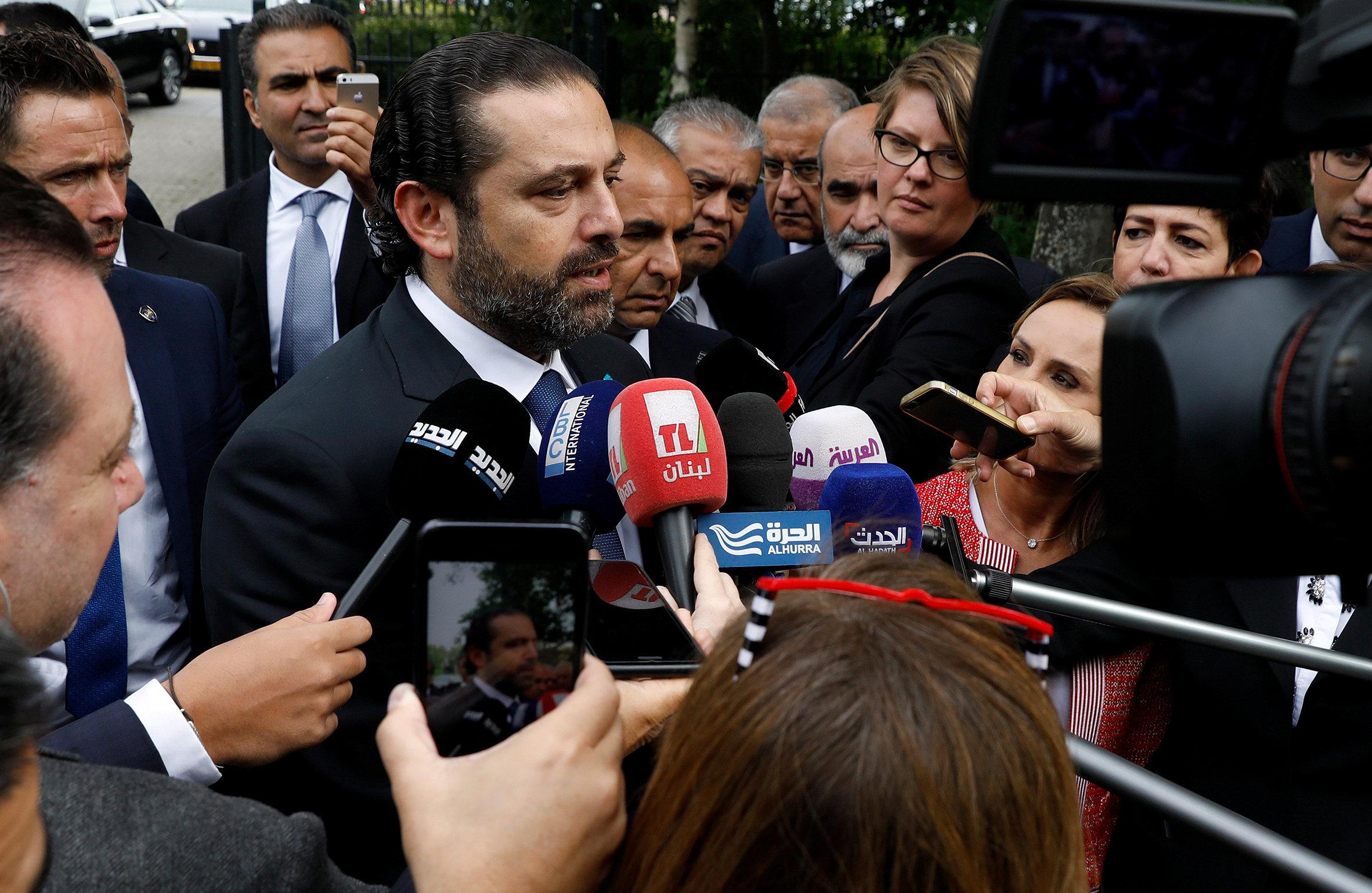 وسائل الإعلام تستوقف الحريرى