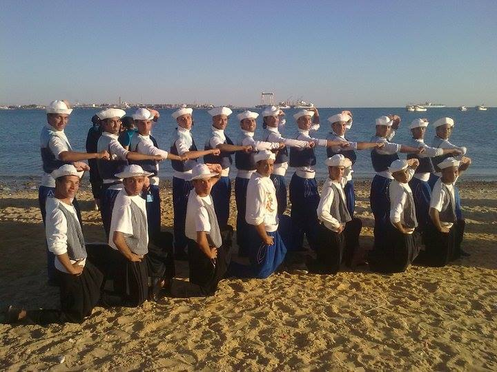 فرقة الإسماعيلية على شاطئ قناة السويس