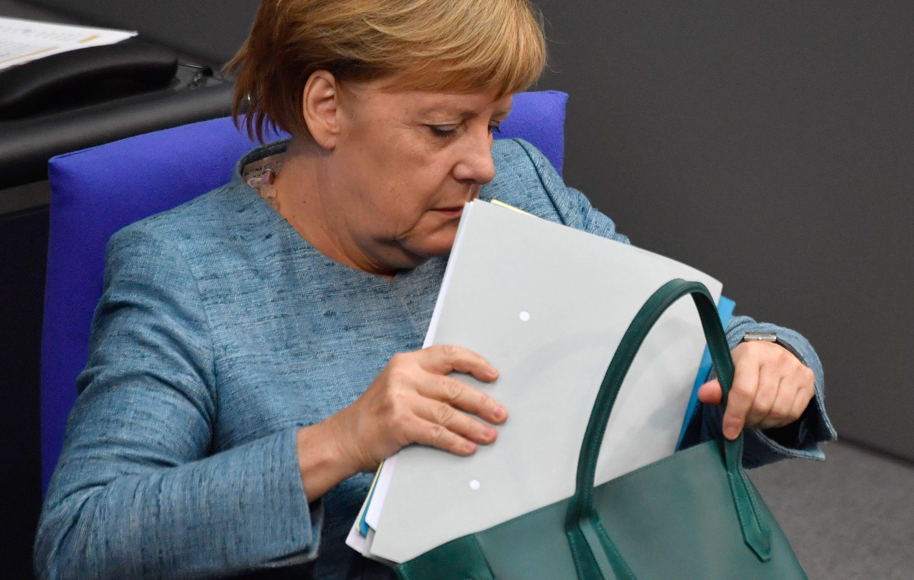 المستشارة الألمانية