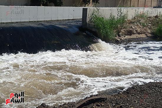 مدخل مياه الصرف الصحى