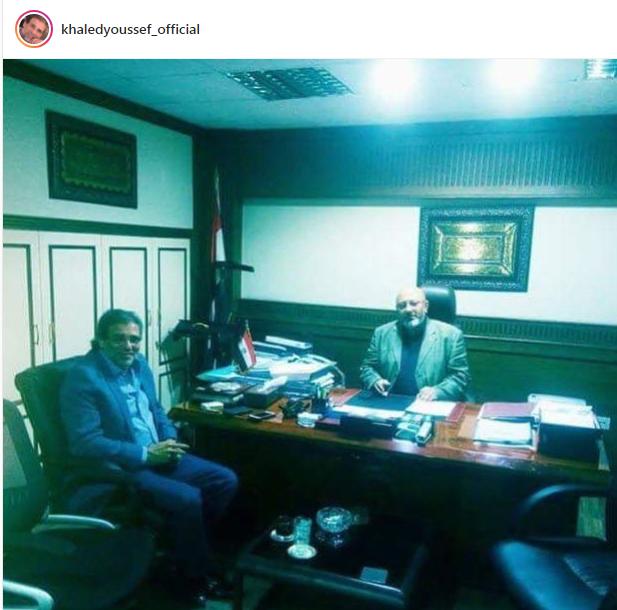خالد يوسف على انستجرام