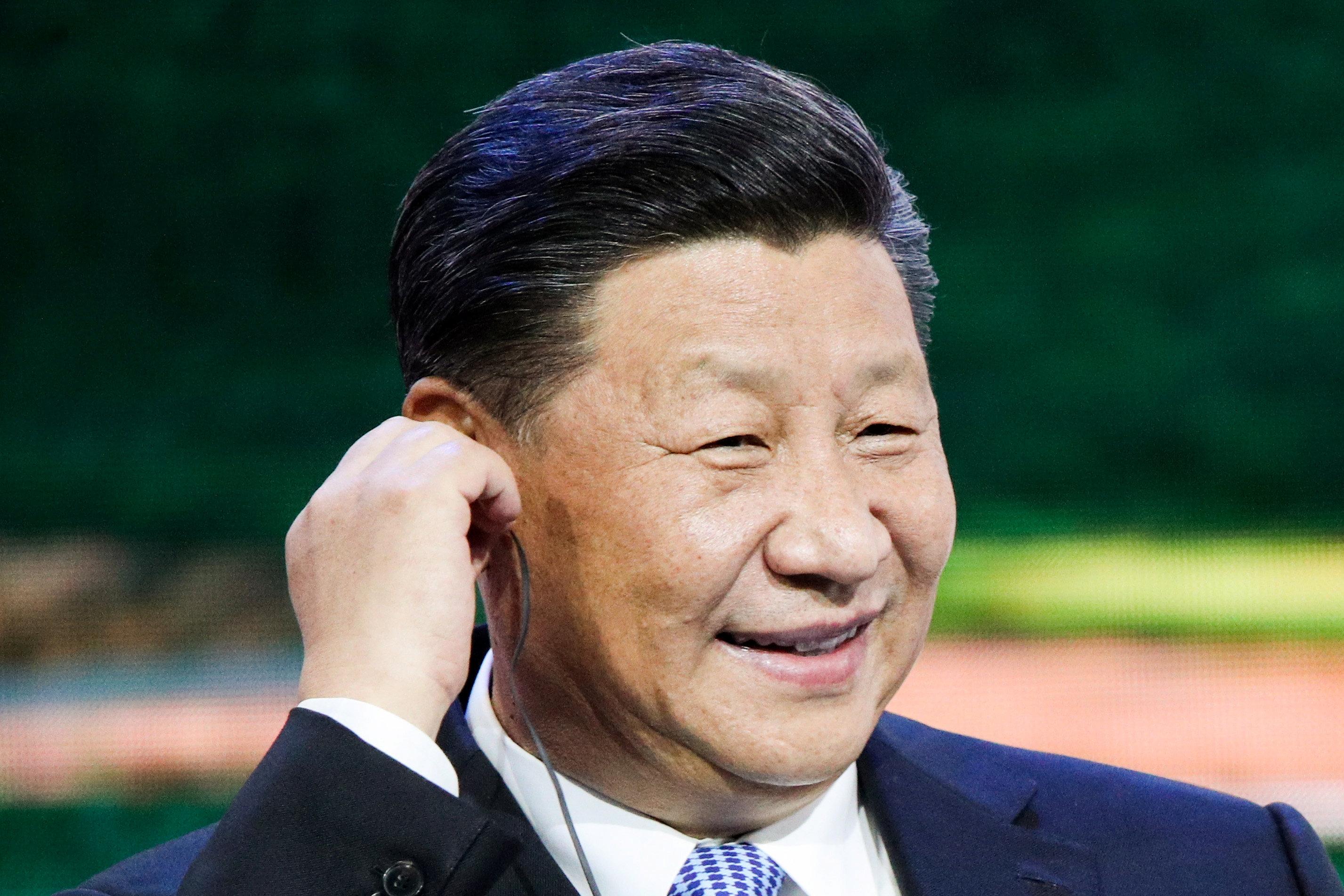 12-  الرئيس الصينى يتابع جلسات المؤتمر