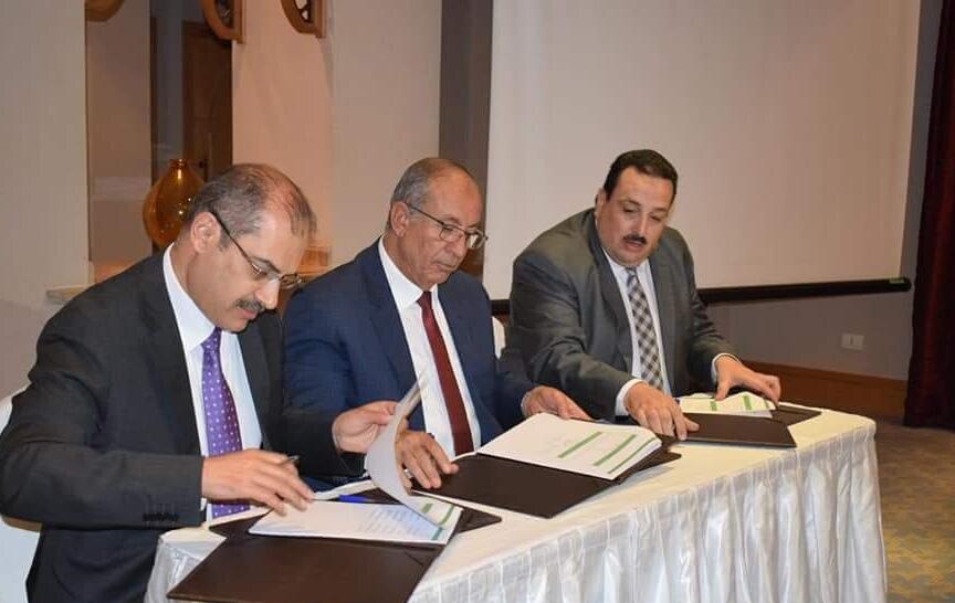 3-خلال توقيع البروتوكول لزراعة السلاكورنيا