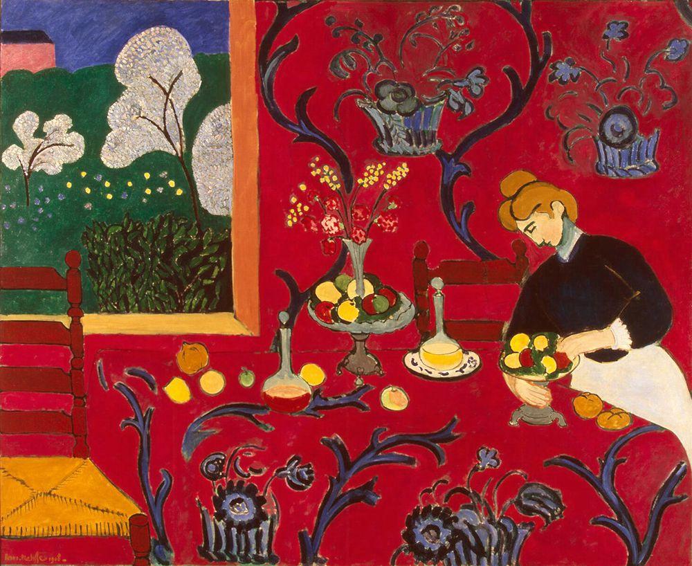 لوحة الغرفة الحمراء