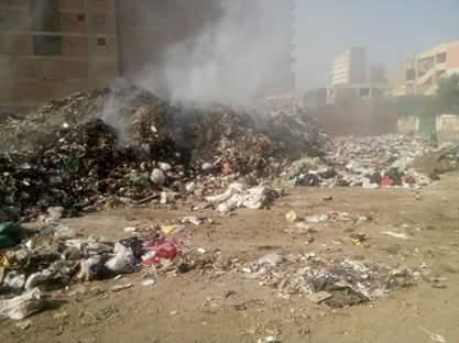 تحويل أرض مجمع مدارس إلى مقلب قمامة بشارع العشرين فى فيصل  (2)