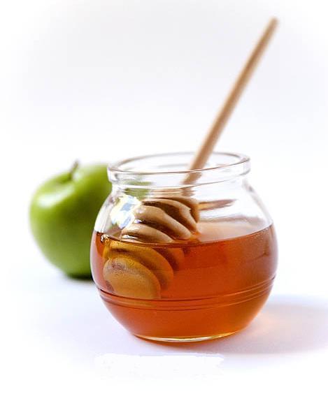 العسل والتفاح