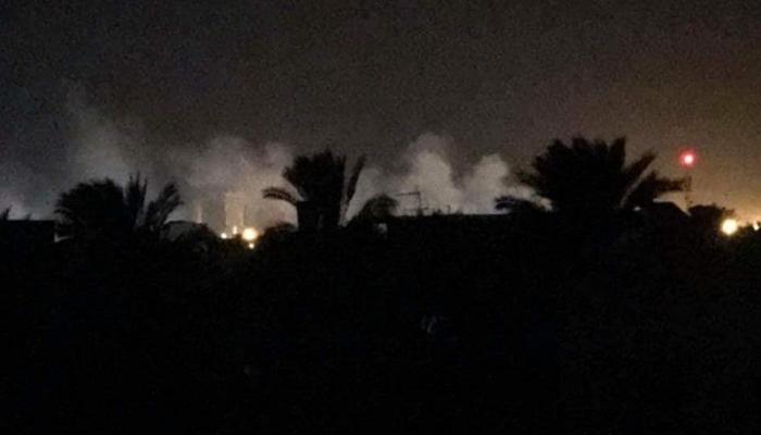 إطلاق القذائف فى ليبيا